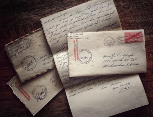 The lost art of the hand written letter
